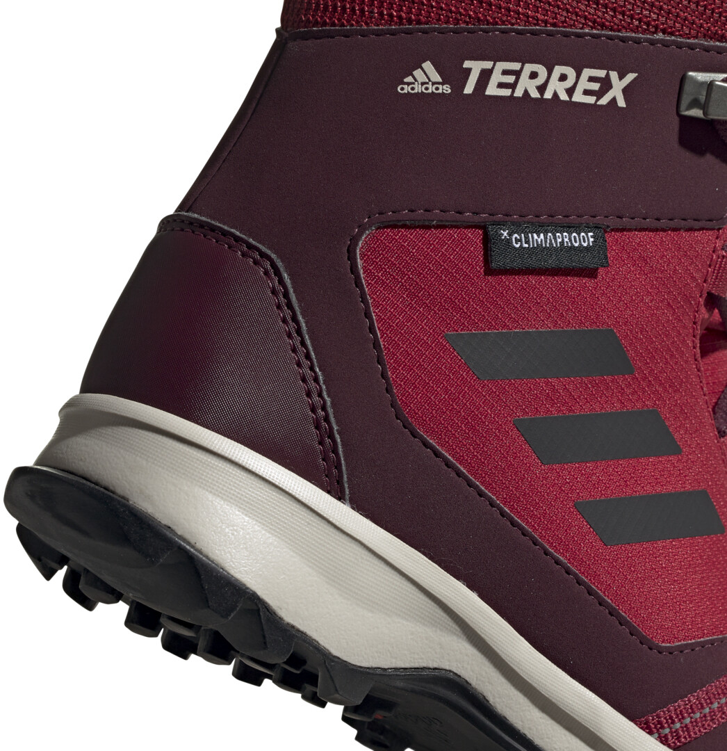 adidas TERREX Snow Climaproof Climawarm Chaussures montantes Enfant, active marooncore blackmaroon